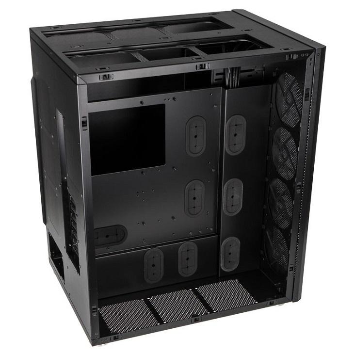 Корпус Lian Li PCD888WX дает свободу в выборе вентиляторов и СВО