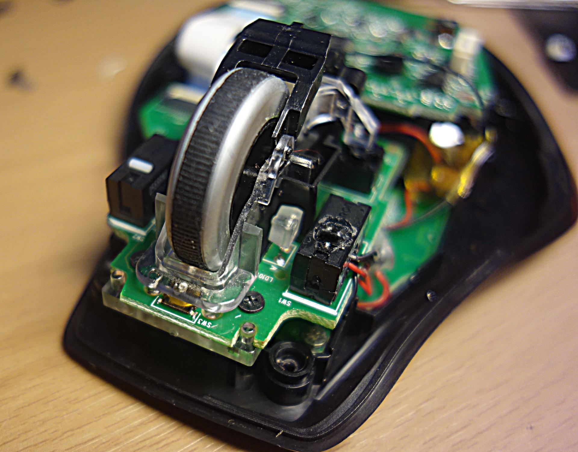 Как скрестить мышку с компасом, или снова о Logitech - 6
