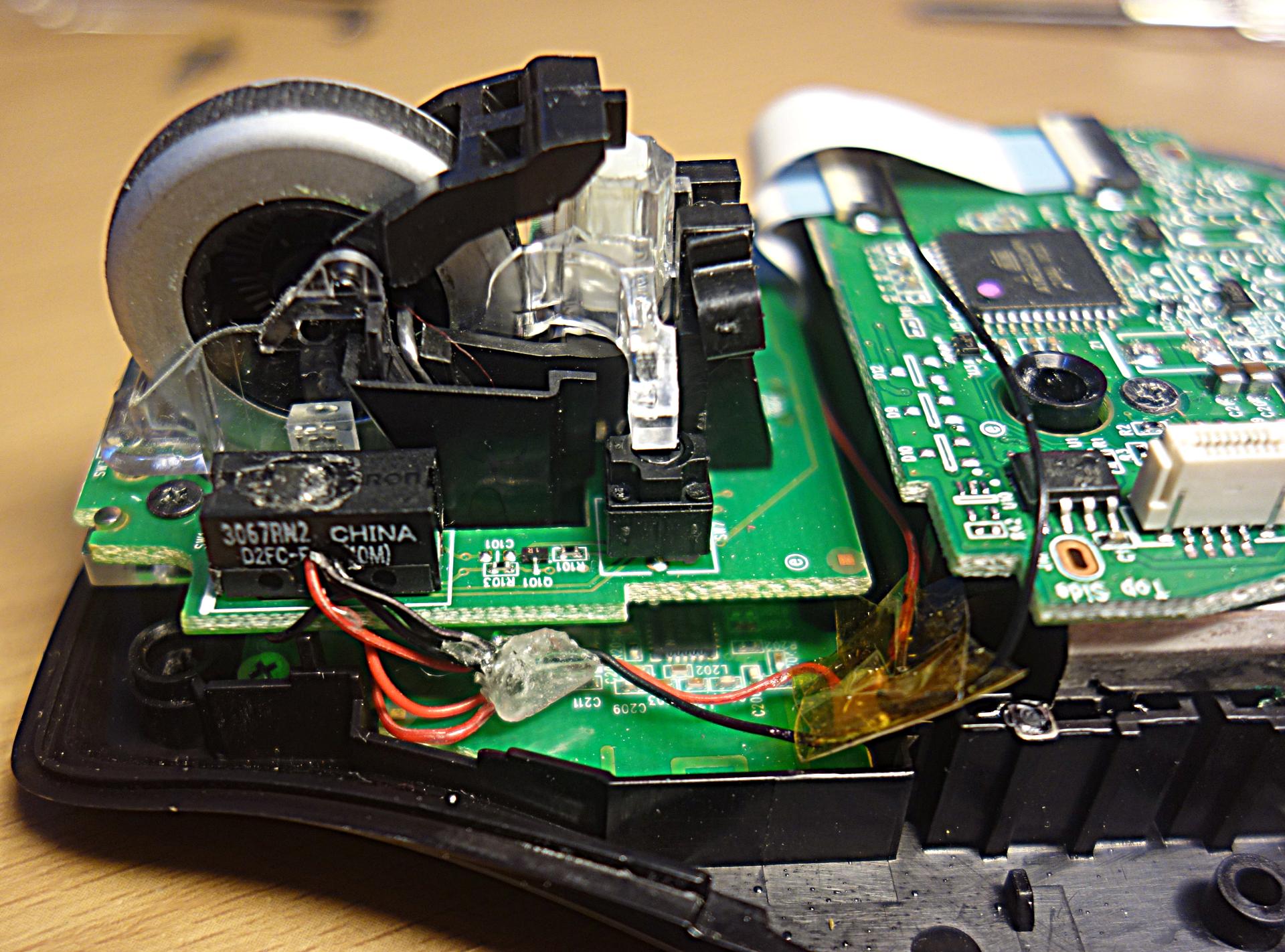 Как скрестить мышку с компасом, или снова о Logitech - 7