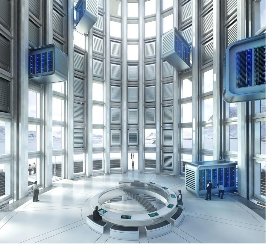 Небоскреб с дата центром Data Tower - 1