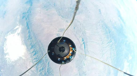 Полет суборбитальной ракеты сняли с разных ракурсов на GoPro - 2