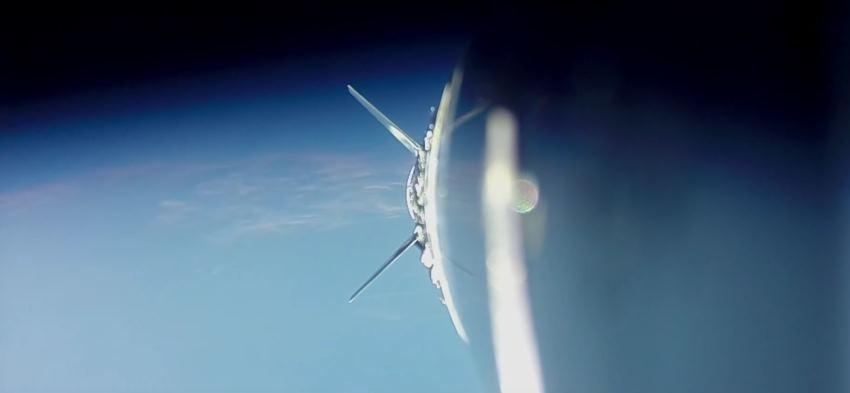 Полет суборбитальной ракеты сняли с разных ракурсов на GoPro - 1