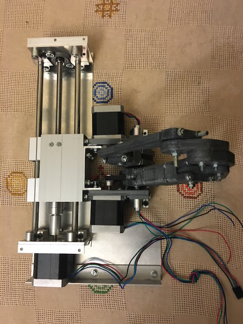 Самодельный 3D принтер на SCARA механике, v3 - 3