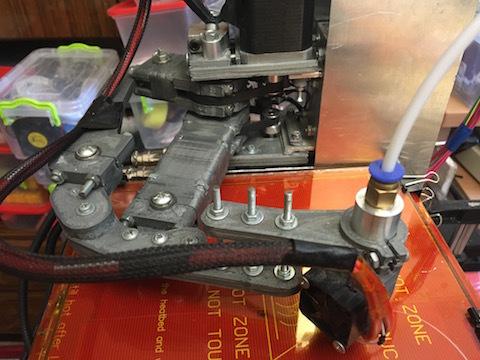 Самодельный 3D принтер на SCARA механике, v3 - 5