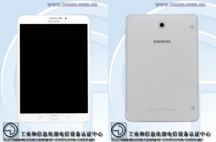 Планшет Samsung Galaxy Tab S3 8.0 будет почти полной копией предшественника
