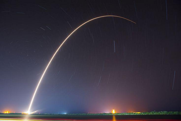 Falcon 9 второй раз успешно села на водную платформу