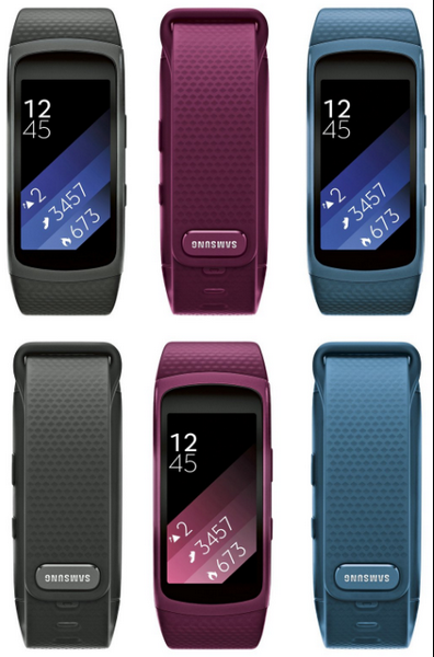 Появилось официальное изображение Samsung Gear Fit 2