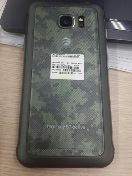 Смартфон Samsung Galaxy S7 Active получит отличную 12-мегапиксельную камеру