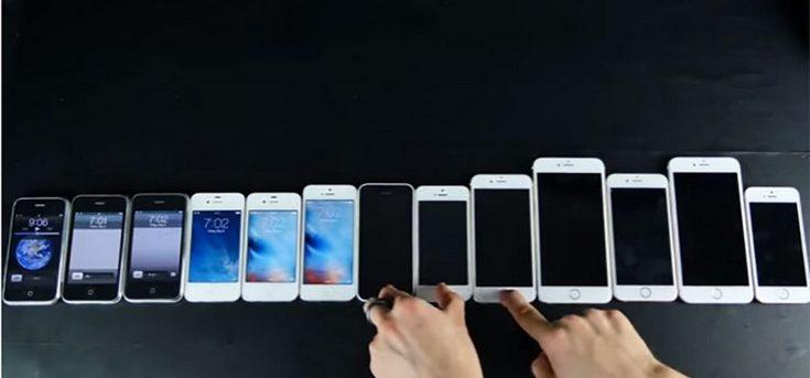 Специалисты EverythingApplePro решили сравнить все смартфоны Apple