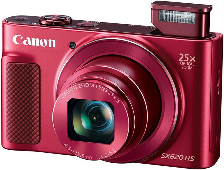 Розничная цена компактной камеры Canon PowerShot SX620 HS — $280