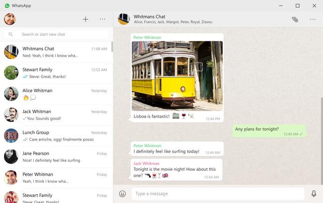 Приложение WhatsApp выпустили на Windows и OS X