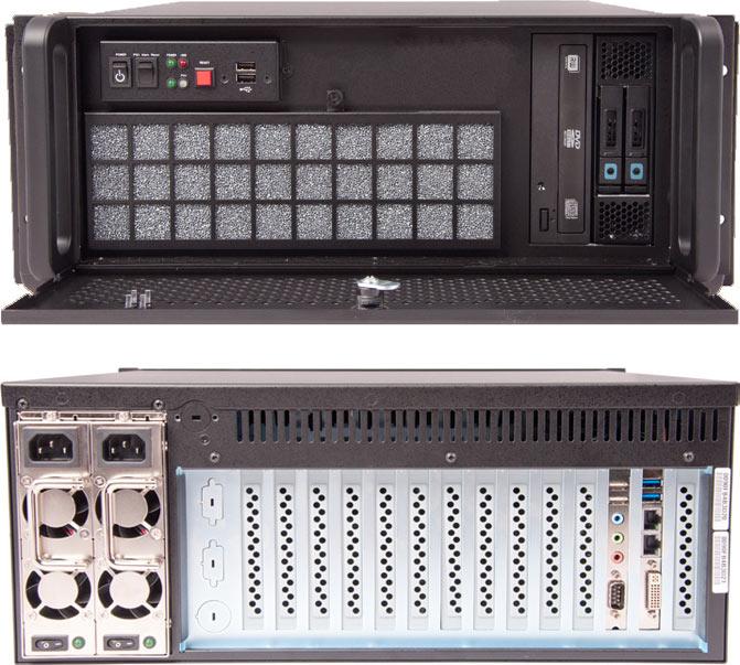 Clarity VCS — комплексное решение типоразмера 4U на CPU Intel Core i7 или Xeon