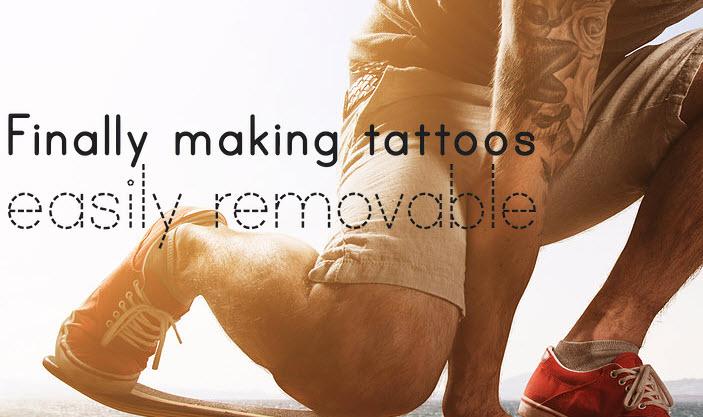 Татуировка, которая исчезнет через год, обойдется в $50-100