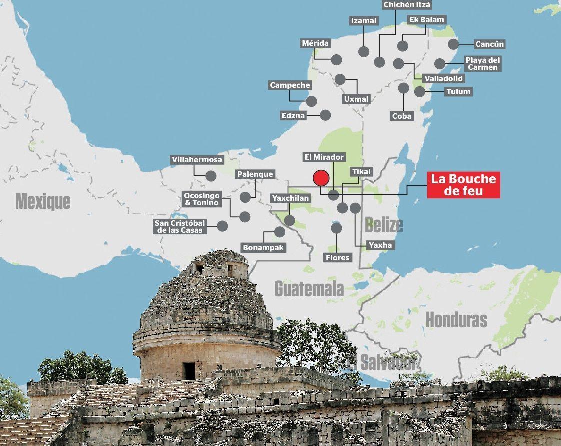 15-летний мальчик нашёл затерянный город майя по звёздной схеме - 3