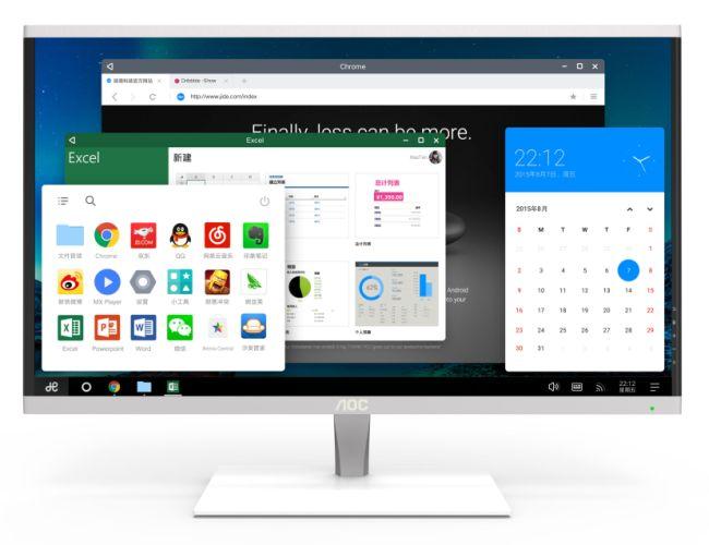 Моноблок AOC Mars AiO PC работает под управлением Remix OS и основан на SoC Amlogic S905