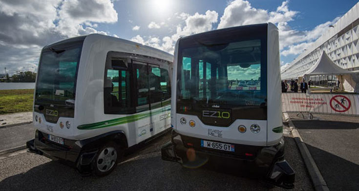 У Ericsson готовы электрические автобусы, способные перемещаться по городу без водителя