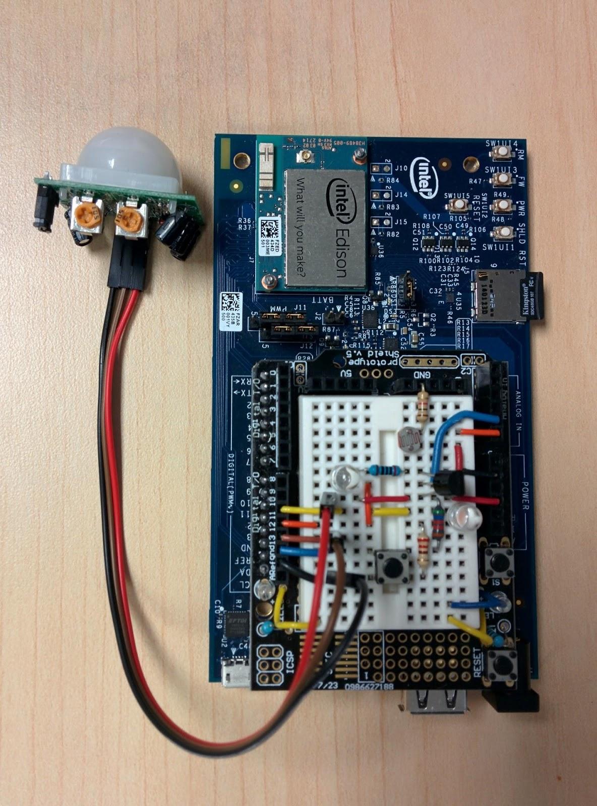 Intel Edison в IoT: безопасное подключение сенсорного узла к интернету с помощью MQTT - 3