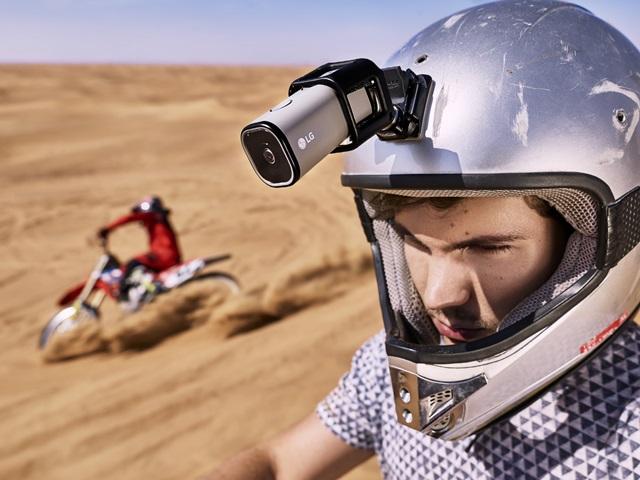 Камера LG Action Cam LTE умеет сама транслировать видео в Сеть