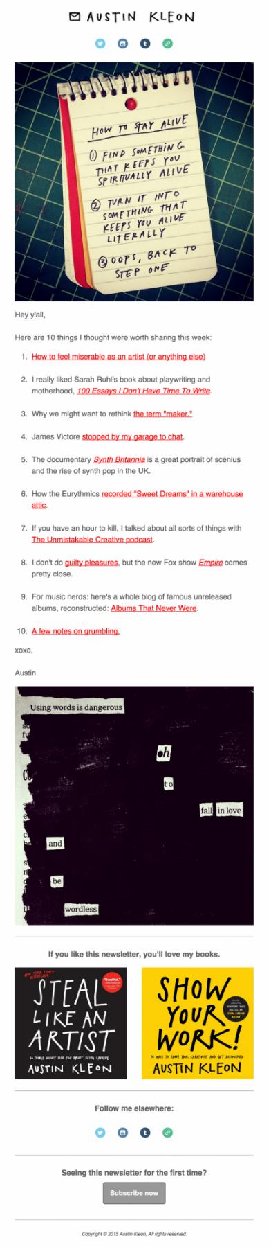 Как спроектировать почтовую рассылку, которая не раздражает: 10 простых советов - 11