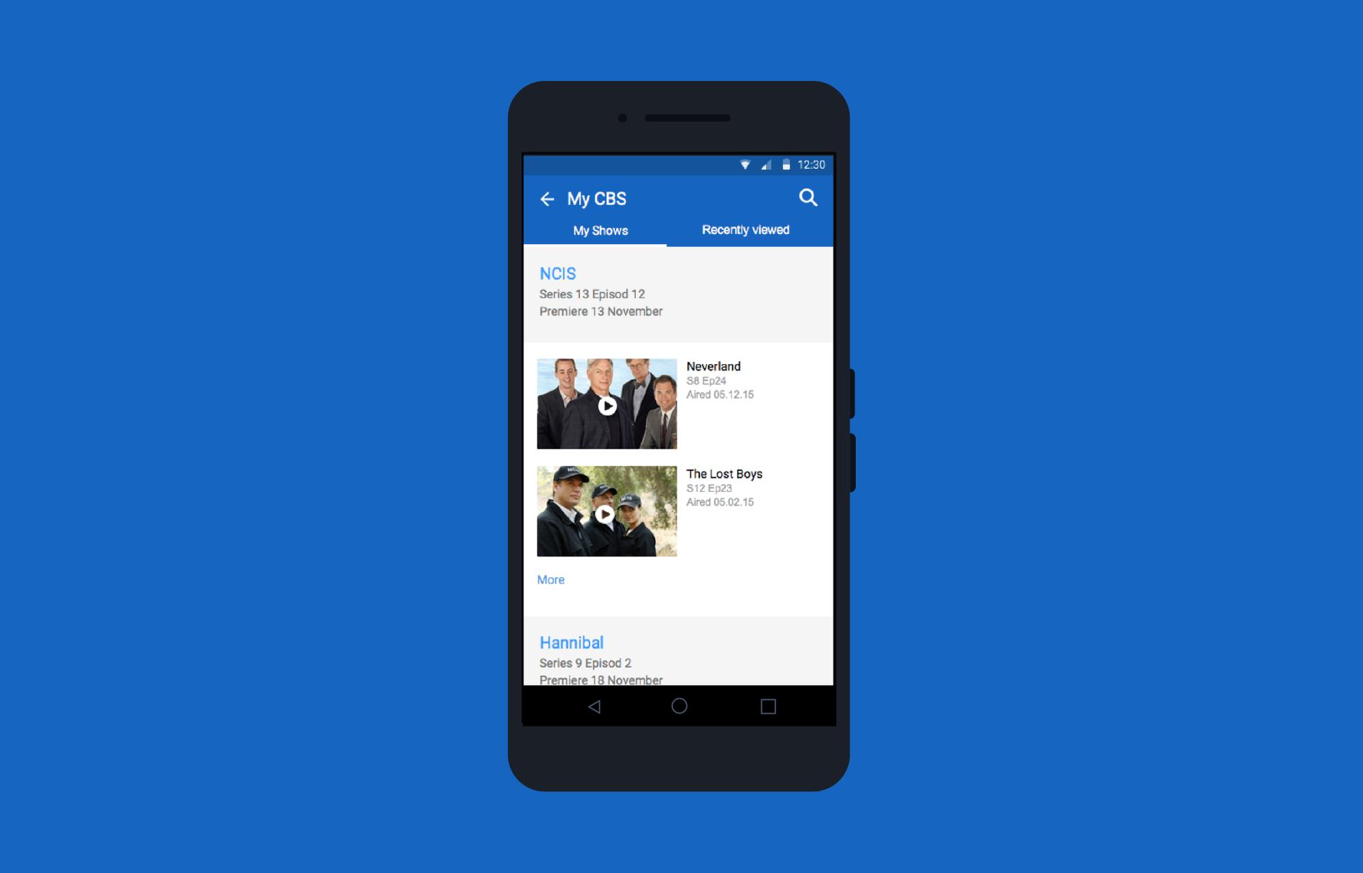 Лучший друг киномана: переделываем приложение CBS под Android - 5