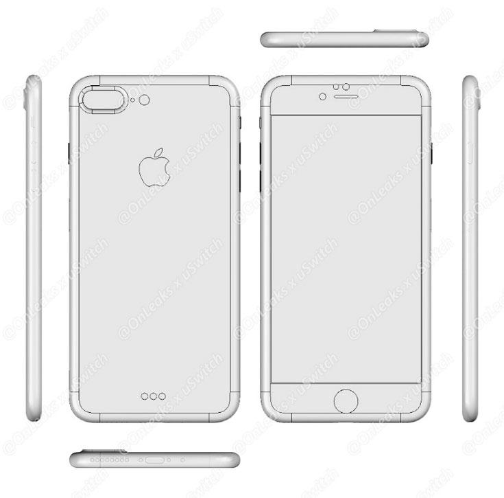 Модель iPhone 7 Plus отличается от iPhone 7, в частности, сдвоенной основной камерой