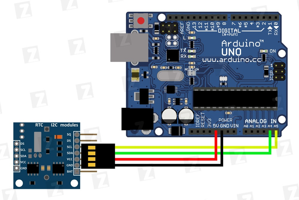 Светодиодные часы Shadowplay на платформе Arduino Uno - 6
