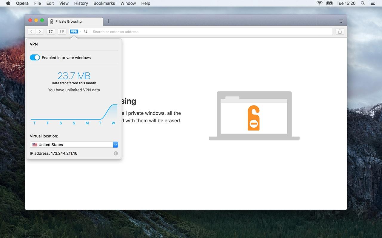 В браузере Opera появился режим энергосбережения - 4
