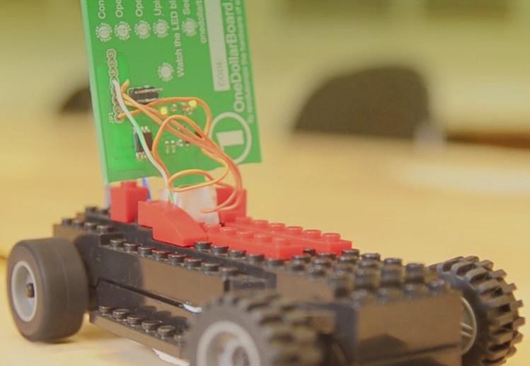 One Dollar Board: плата стоимостью в $1 для обучения детей и подростков основам электроники и программирования - 4