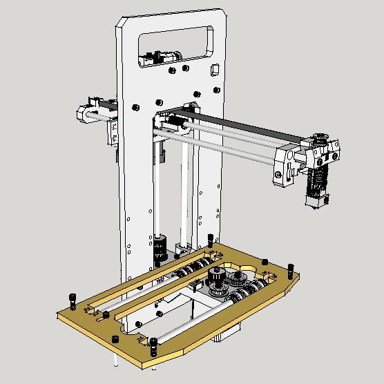 Алаверды на публикацию «Печать пластиком ABS на холодном столе» @masterkit - 10