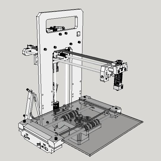 Алаверды на публикацию «Печать пластиком ABS на холодном столе» @masterkit - 1