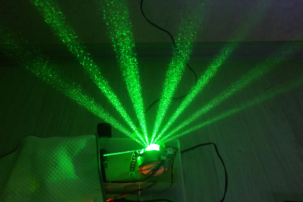 Лазерная арфа на базе Arduino - 10