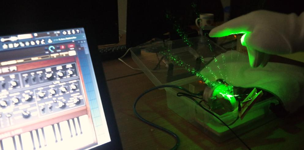 Лазерная арфа на базе Arduino - 1