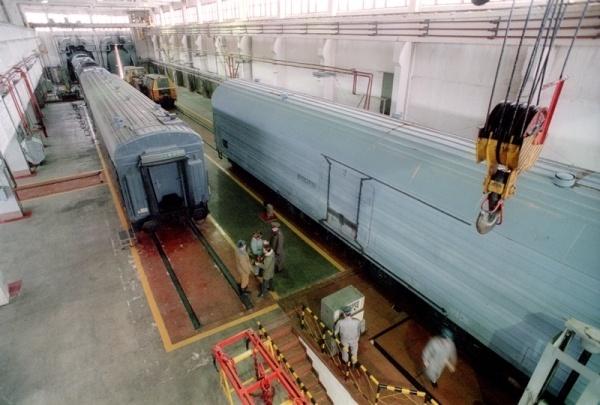 «Ядерный» поезд: БЖРК «Баргузин» с межконтинентальными баллистическими ракетами - 2