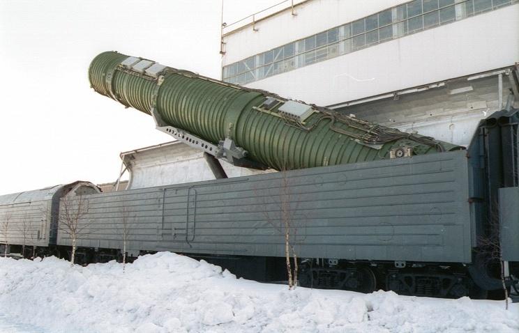 «Ядерный» поезд: БЖРК «Баргузин» с межконтинентальными баллистическими ракетами - 4