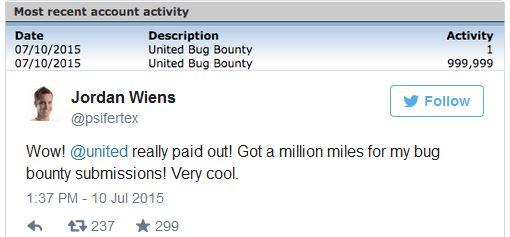 «Белые» хакеры получили 1 млн миль бонусов от авиакомпании за найденную уязвимость. Налоговики требуют у хакеров $7620 - 2