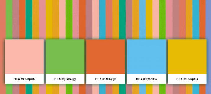 Цветовая палитра от мастеров живописи: Color Lisa - 1