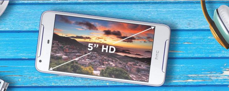 Смартфон HTC Desire 628 получил достаточно слабый аккумулятор