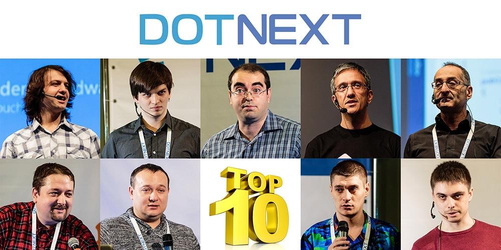 Видео лучших докладов .NET-конференции DotNext 2015 Moscow - 1