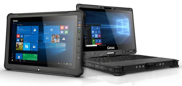 Защищенный планшет Getac F110 и защищенный трансформируемый ноутбук Getac V110 получили процессоры Intel Core шестого поколения