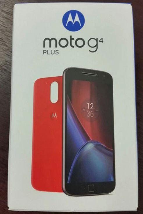 Смартфон Moto G4 Plus будет представлен в ближайшее время