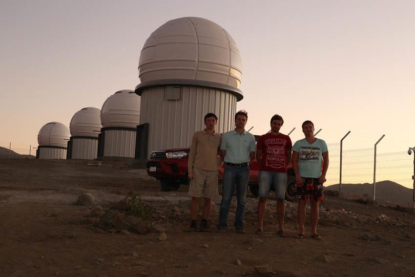 «Космонавты» в Чили: как мы делали всю ИТ-инфраструктуру для четырех телескопов в Андах - 32