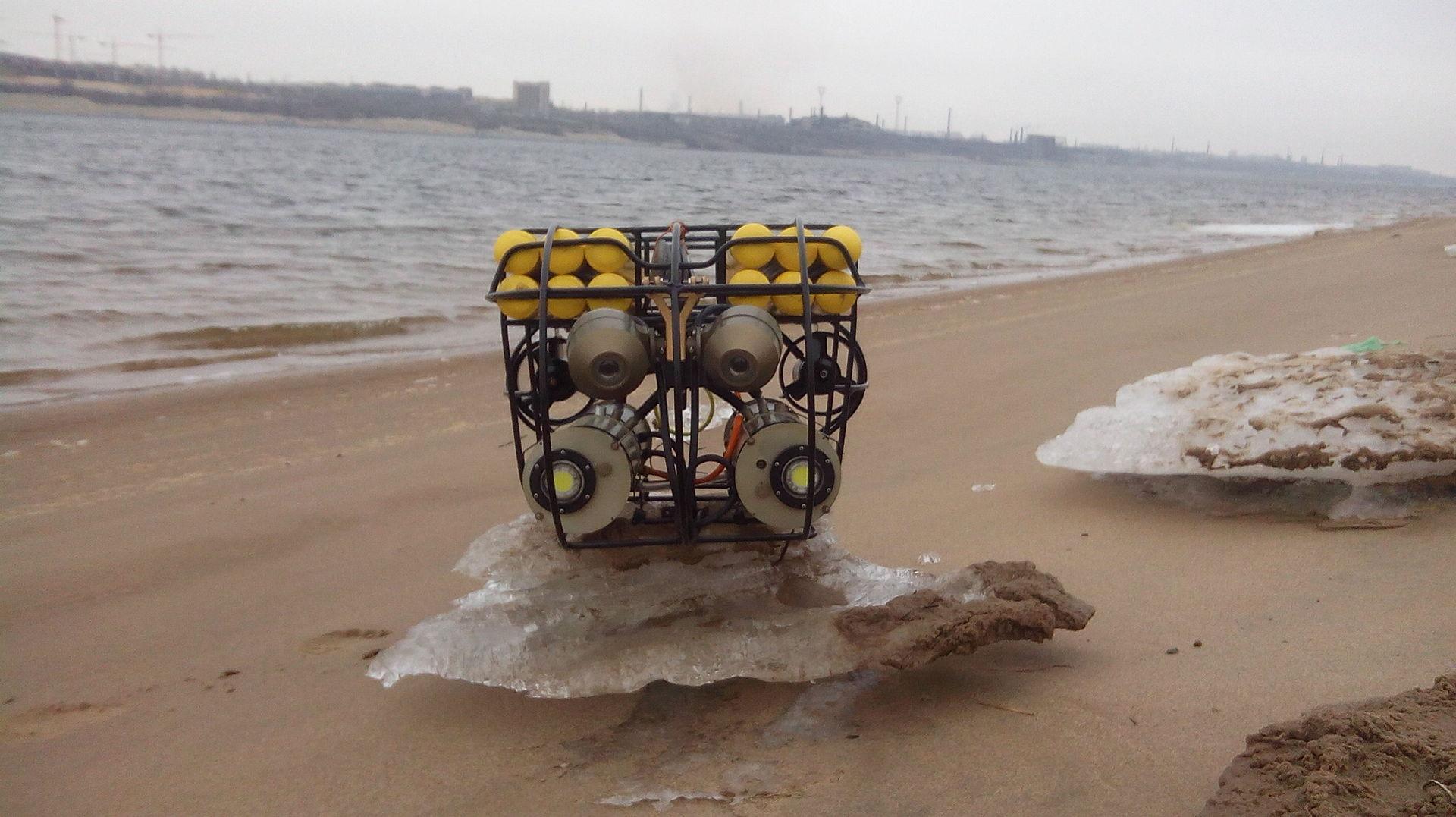 Передача видео с глубоководного робота - 2