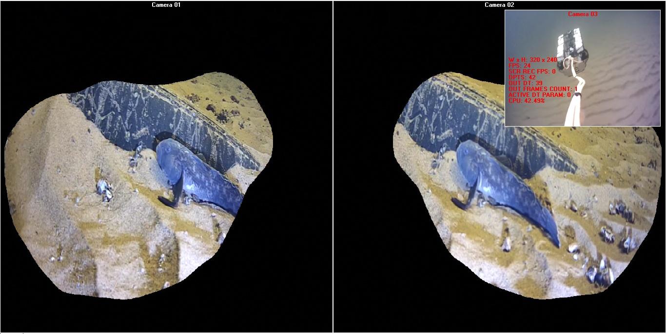 Передача видео с глубоководного робота - 5
