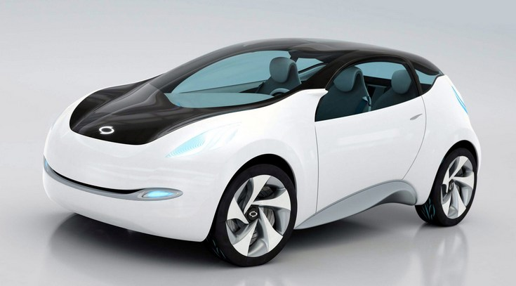 Renault Samsung Motors разработает однотонный коммерческий электромобиль