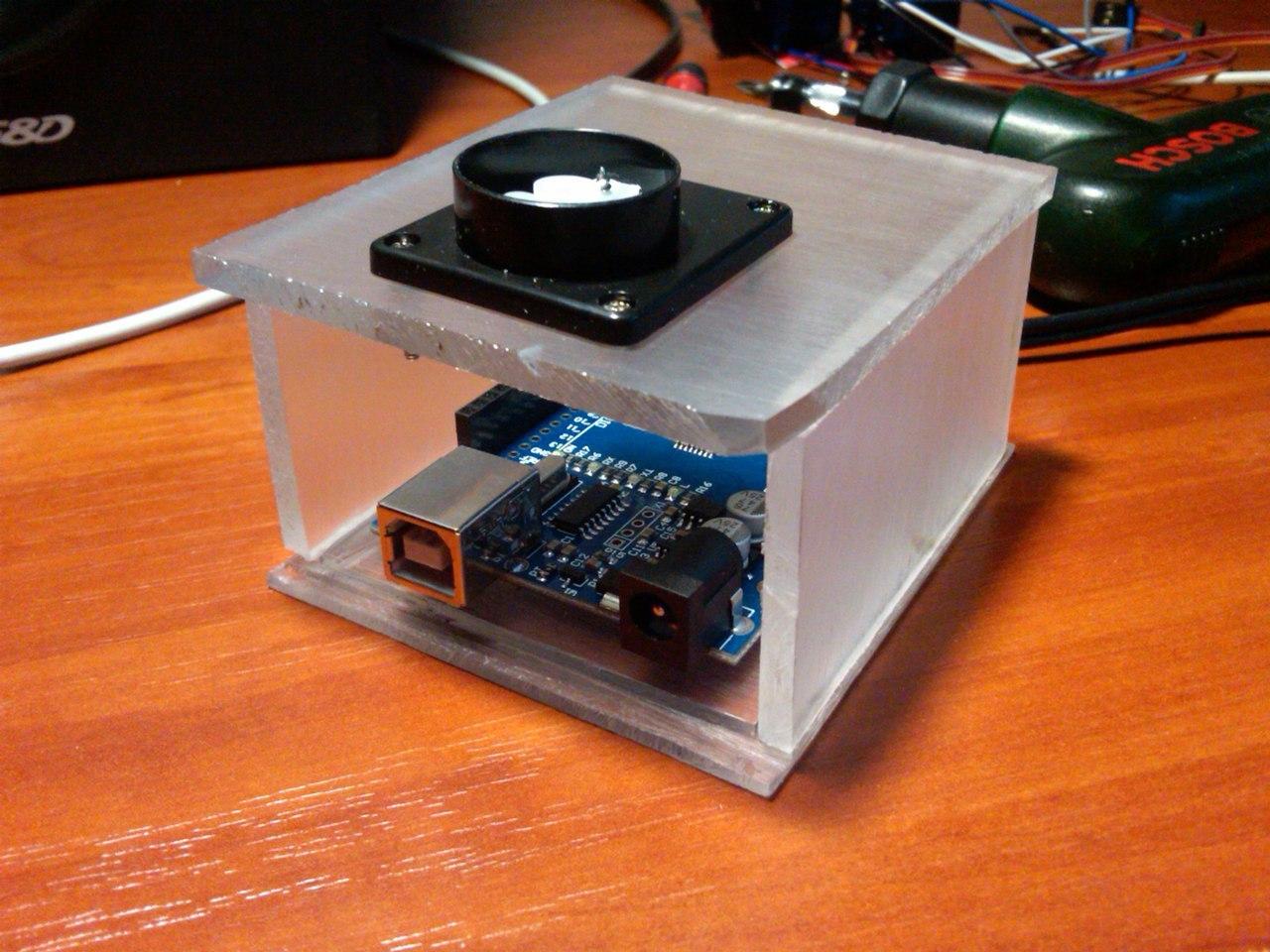 Тепловизор на платформе Arduino UNO - 4