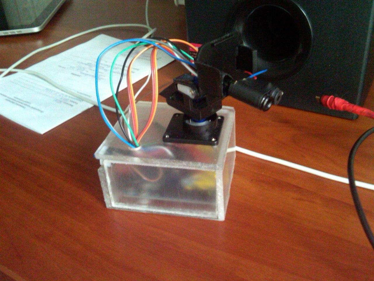Тепловизор на платформе Arduino UNO - 5