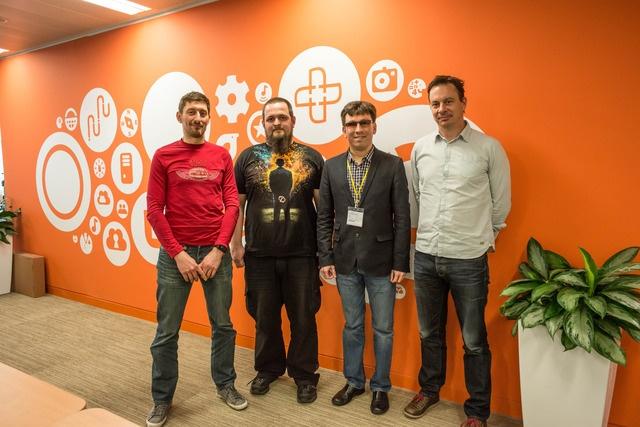 Михаил с коллегами из Canonical