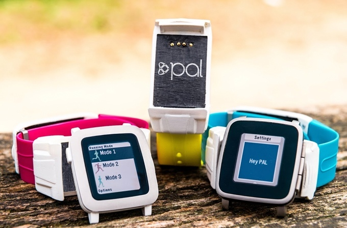 Ремешок Pal Strap для часов Pebble получил модуль GPS и собственный аккумулятор