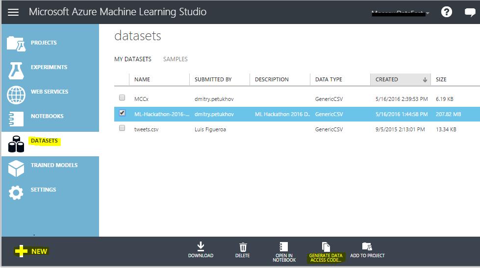 R в Microsoft Azure для победы на хакатоне. Инструкция по применению - 6