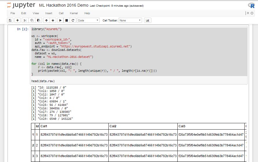 R в Microsoft Azure для победы на хакатоне. Инструкция по применению - 7